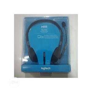 Logitech Headset H111 | Headphones for sale in Abuja (FCT) State, Wuse