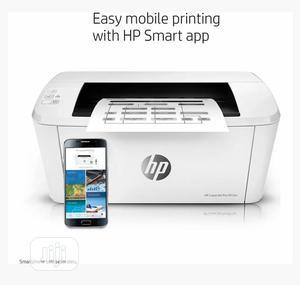Hp 15w Monochrome Small Size Laserjet Wireless Printer | Printers & Scanners for sale in Lagos State, Ifako-Ijaiye