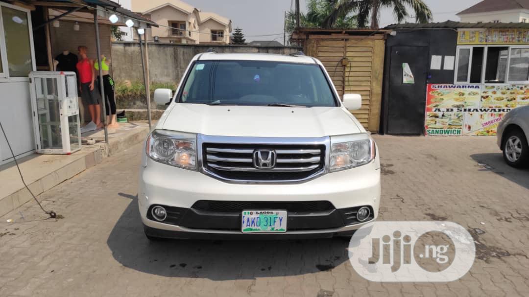 Honda Pilot 2012 White | Cars for sale in Lekki, Lagos State, Nigeria