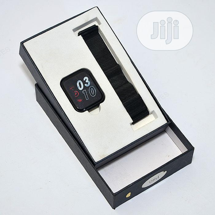 P80 Double Strap Smartwatch