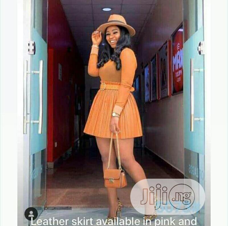 High Quality Female Leather Skirts | Clothing for sale in Ikeja, Lagos State, Nigeria