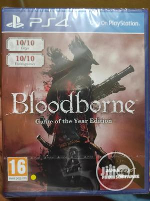 Bloodborne Game of the Year Edition PS4   Video Games for sale in Lagos State, Alimosho