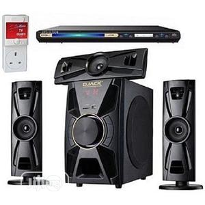 Djack Wirless Home Theatre System + DVD PLAYER + Power Surge   Audio & Music Equipment for sale in Lagos State, Eko Atlantic