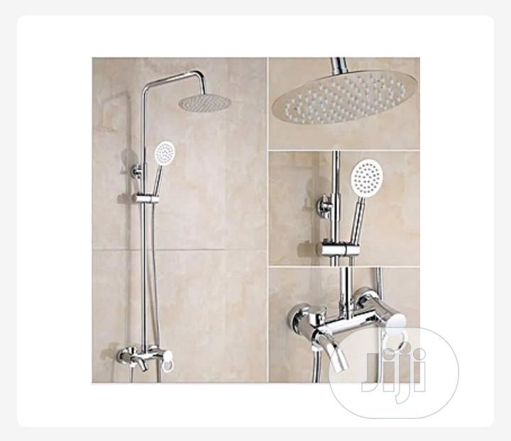 Modern Desighn Standing Shower With Mixer