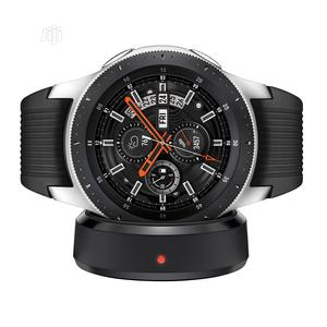 US Used Samsung Galaxy Watch (46mm) Silver (Bluetooth LTE) | Smart Watches & Trackers for sale in Oyo State, Ido