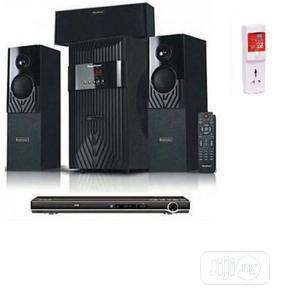 Homeflower Homether Hf-1203 + DVD Player+ Free Power Surge   Audio & Music Equipment for sale in Lagos State, Ikoyi