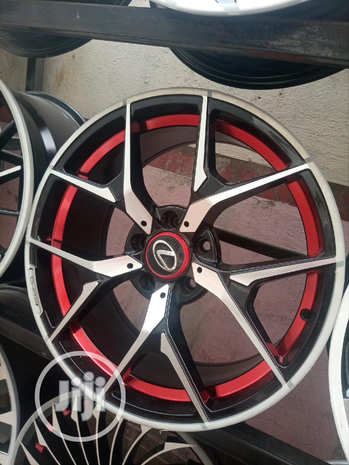 Size 17 Rim and 18 Any Car Can Uesd It | Vehicle Parts & Accessories for sale in Mushin, Lagos State, Nigeria