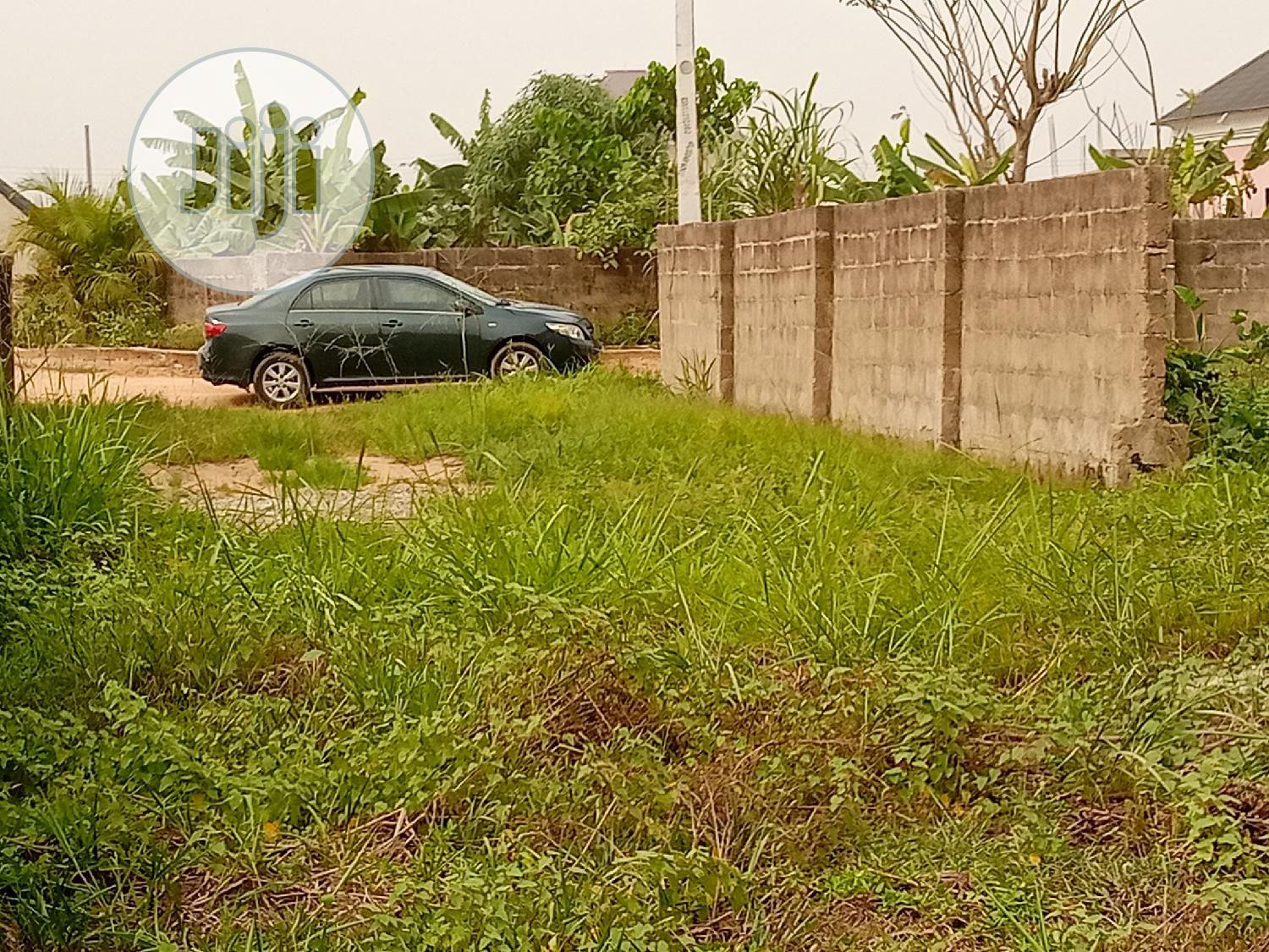 A Plot of Table and Dry Land for Sale at Makogi Magboro Ext.