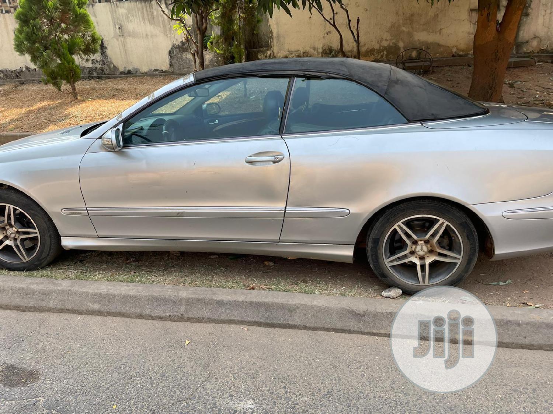 Mercedes-Benz CLK 2004 320 Cabriolet Gray   Cars for sale in Utako, Abuja (FCT) State, Nigeria