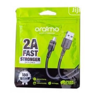 Oraimo Ocd M53 Data Cable   Accessories for Mobile Phones & Tablets for sale in Lagos State, Ikeja