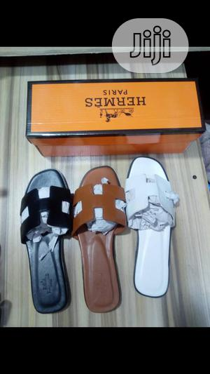 Hermes Palm Slippers   Shoes for sale in Lagos State, Yaba