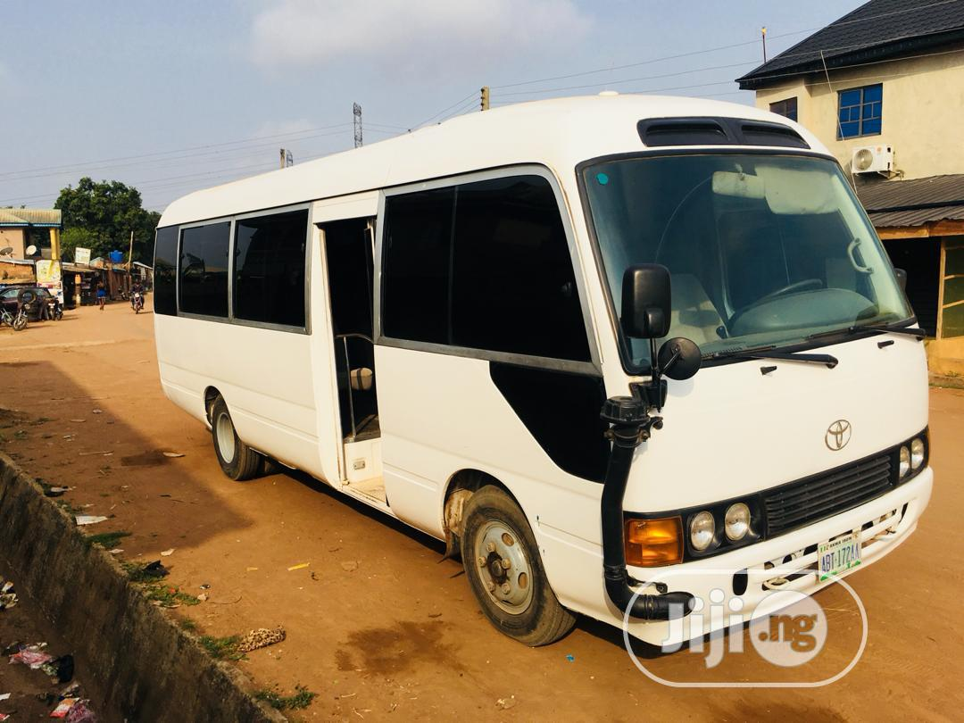 2008 Model Toyota Coaster Bus for Sale | Buses & Microbuses for sale in Ipaja, Lagos State, Nigeria
