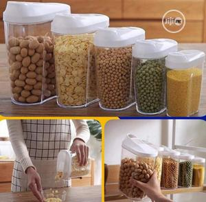10 Pieces Plastic Cereal Storage Container   Kitchen & Dining for sale in Lagos State, Alimosho