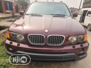 BMW X5 2003 Red | Cars for sale in Lagos State, Victoria Island
