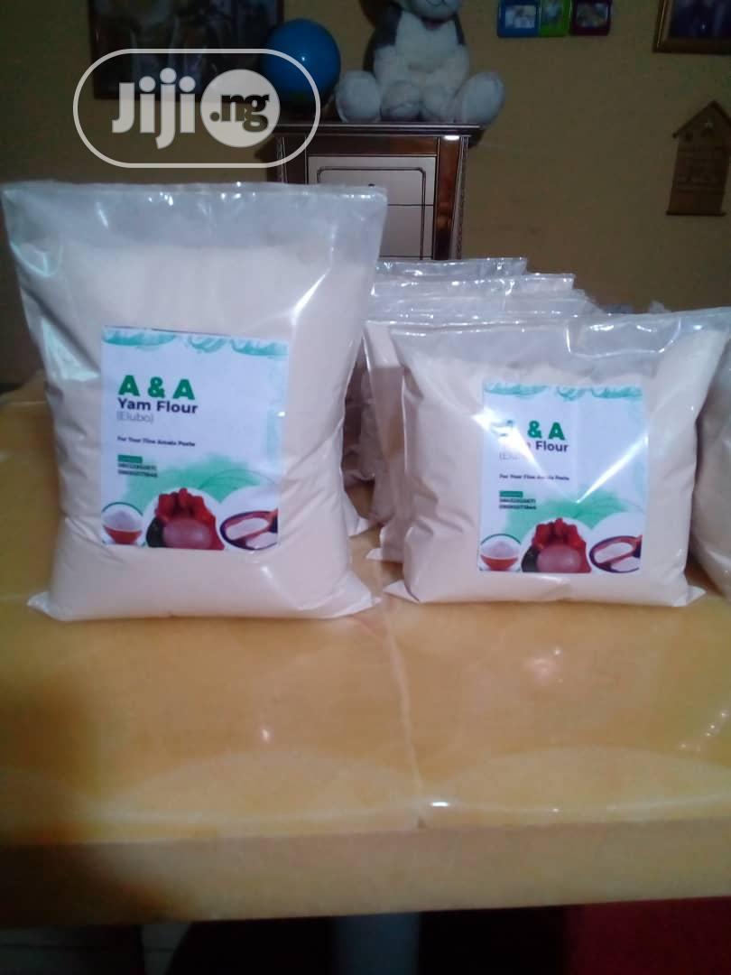 A a Yam Flour