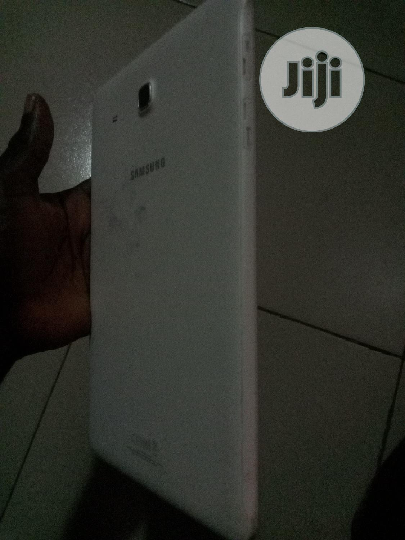Samsung Galaxy Tab E 9.6 8 GB White | Tablets for sale in Ibadan, Oyo State, Nigeria