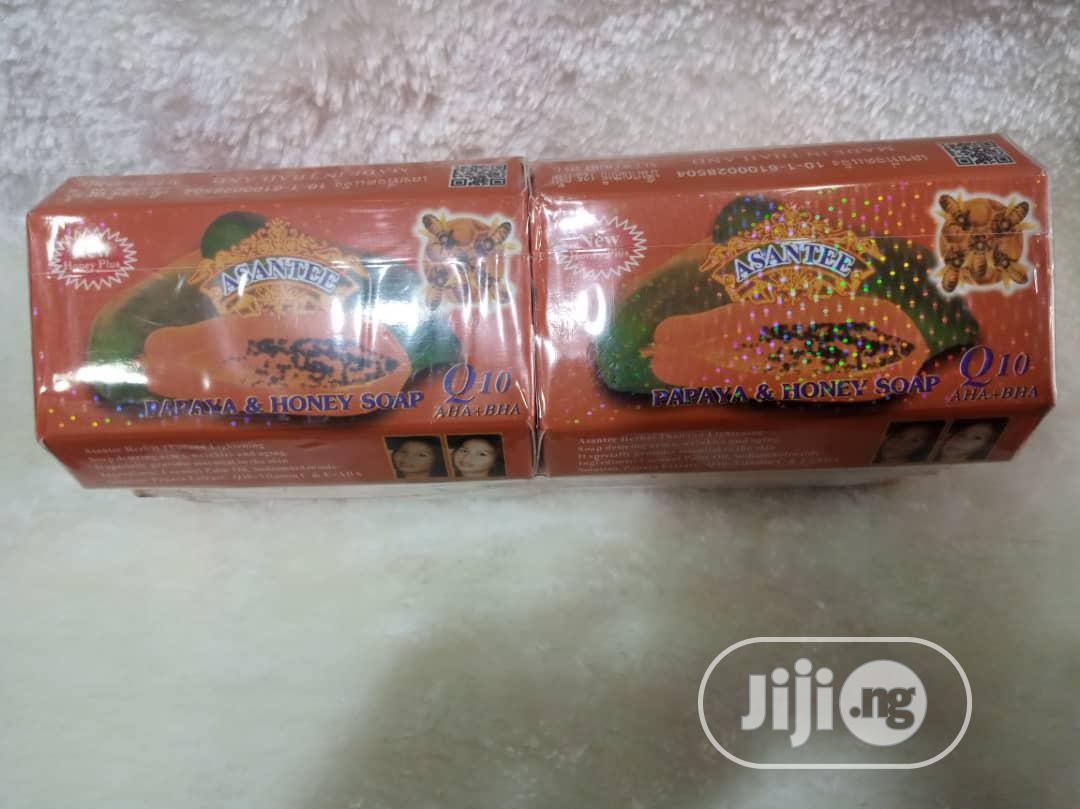 ASANTEE Papaya Honey Soap