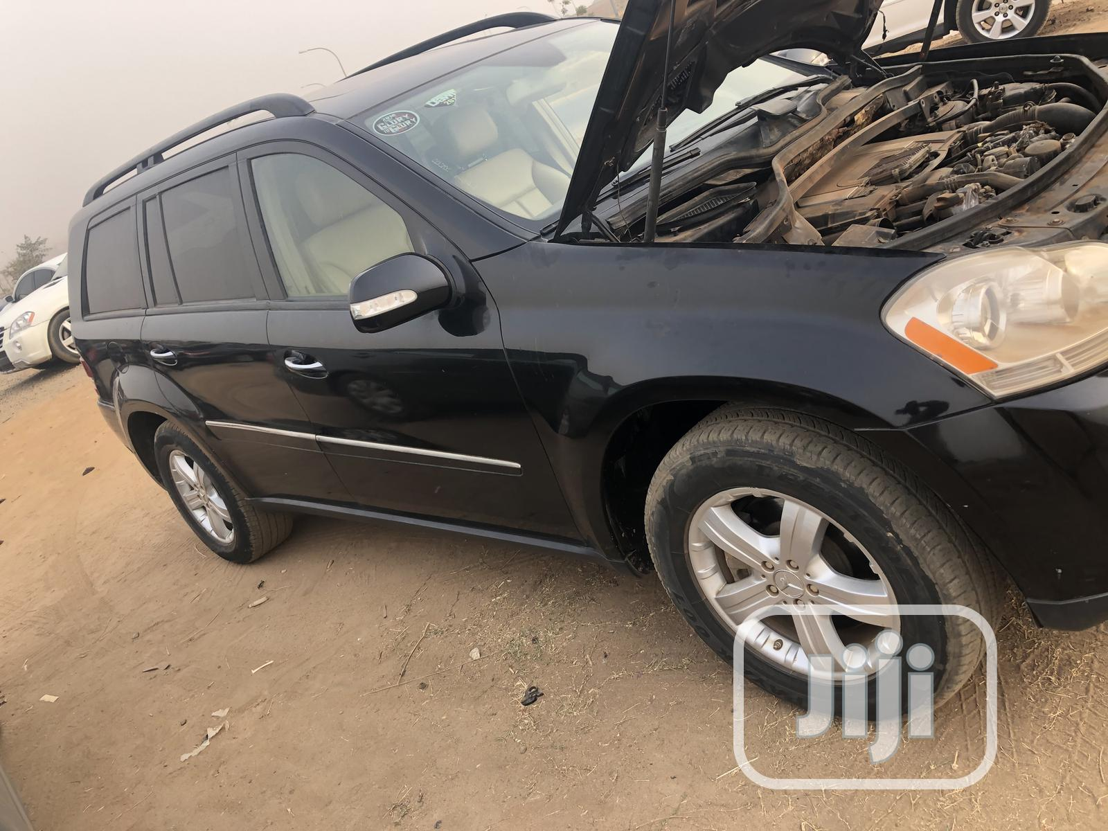 Mercedes-Benz GL Class 2007 GL 450 Black | Cars for sale in Lugbe District, Abuja (FCT) State, Nigeria