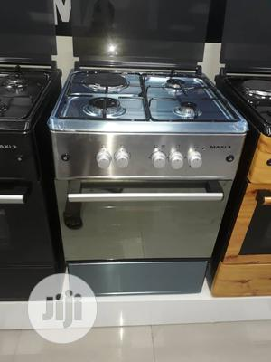 Brand New MAXI 3+1 Standing Gas Cooker,60-60, Silver,Oven, | Kitchen Appliances for sale in Lagos State, Ojo