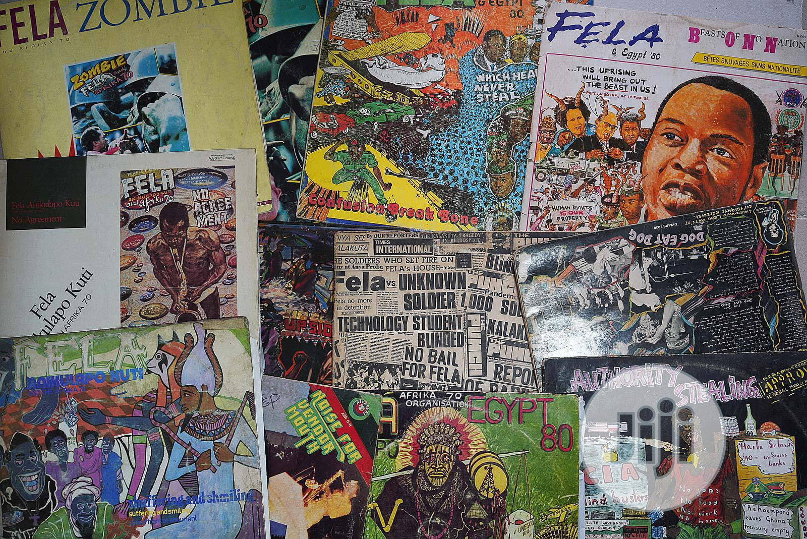 Archive: Selling Original Fela Vinyl Record Albums 70's to 90's