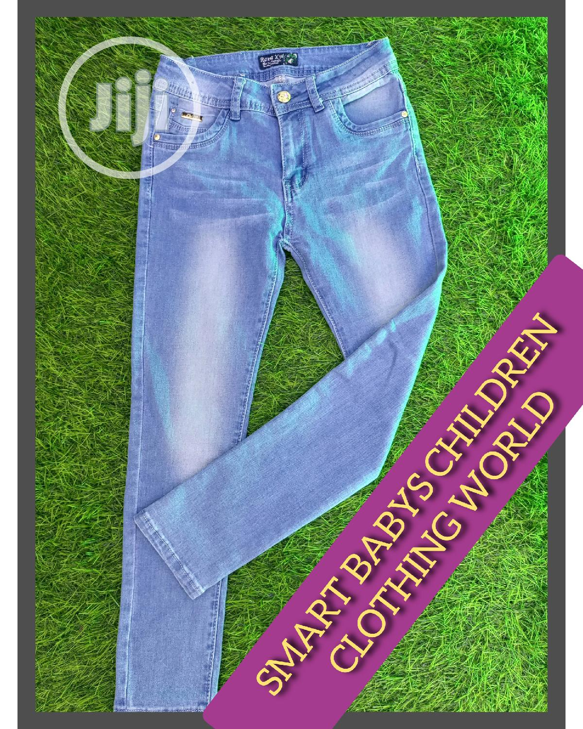 High Quality Children STOCK JEANS.100% Quality Assured.
