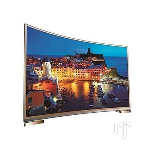 Polystar 55 Inches Smart Curved Youtube, Netflix, Facebook | TV & DVD Equipment for sale in Ikeja, Lagos State, Nigeria