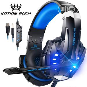 Gaming Headset With Light Mic Bass for PC PS4 New X-Box | Headphones for sale in Abuja (FCT) State, Asokoro