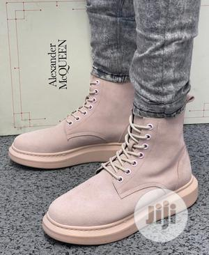 Original Alexander McQueen Hybrid Lace Up Ankle Boot | Shoes for sale in Lagos State, Surulere