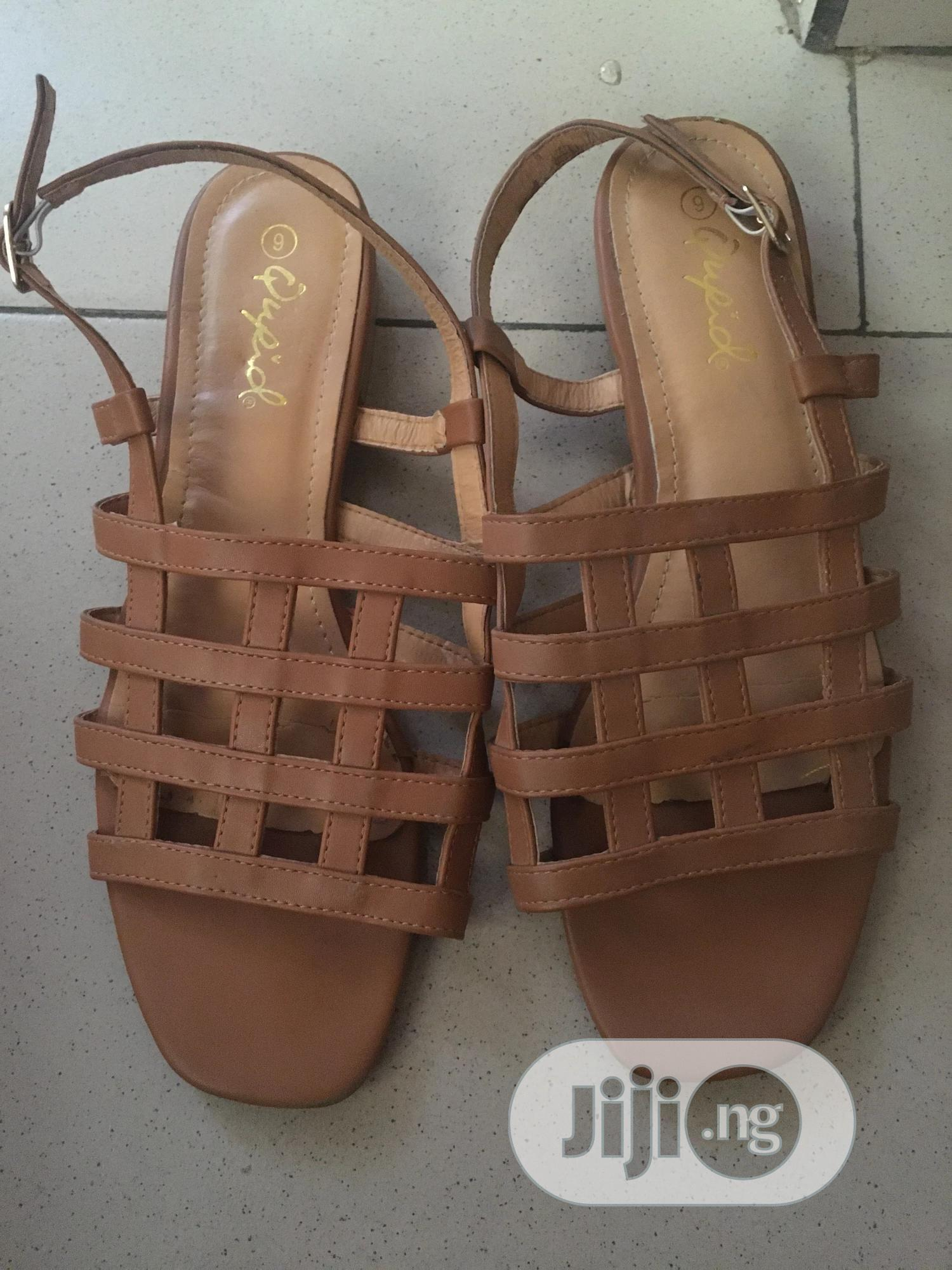 Archive: Flat Block Heel Sandal