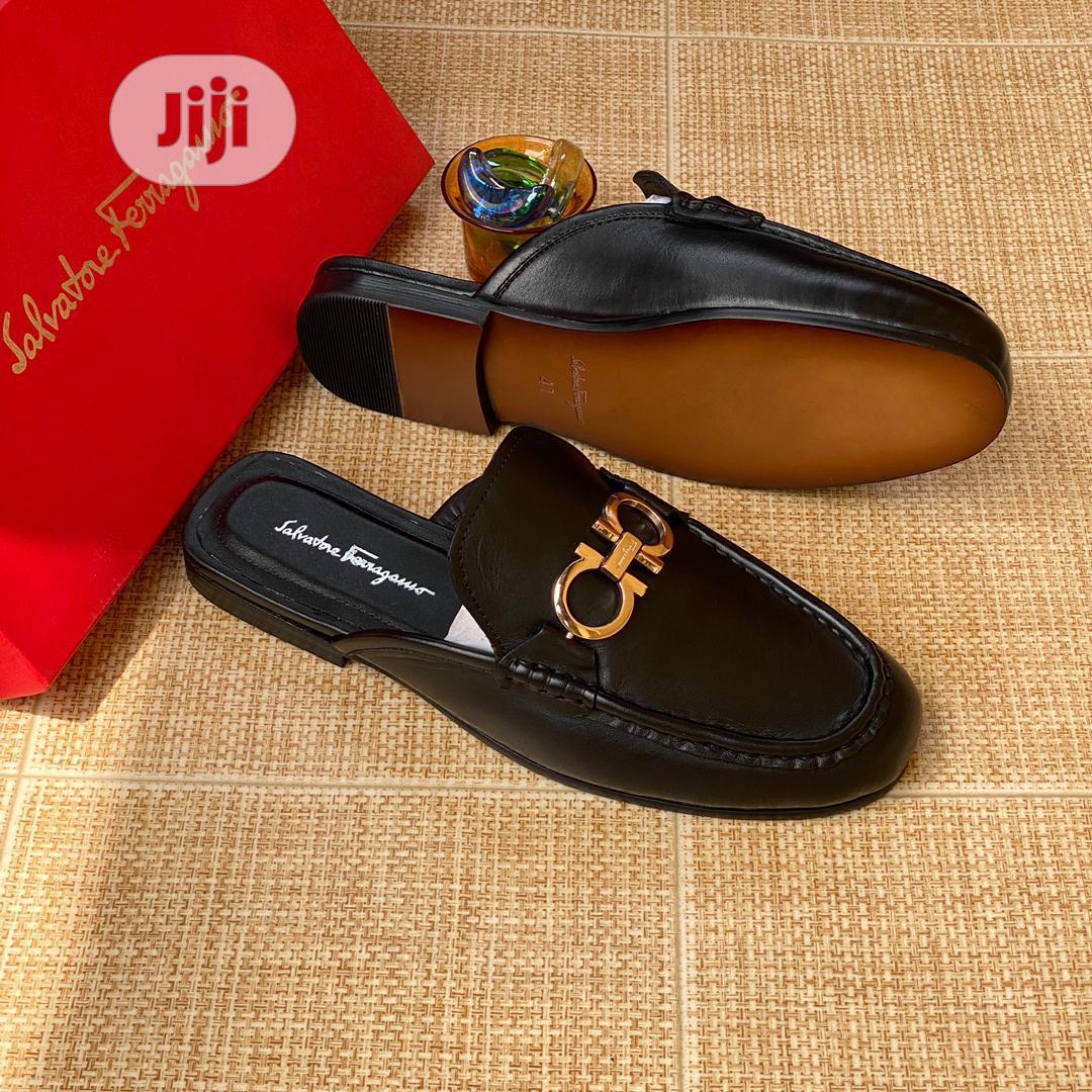 Original Salvatore Ferragamo Half Shoe