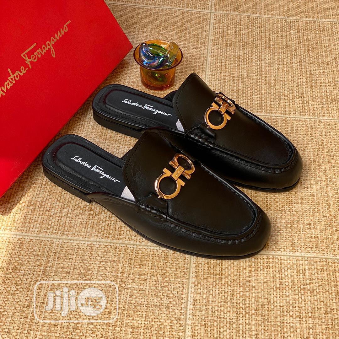 Original Salvatore Ferragamo Half Shoe   Shoes for sale in Lagos Island (Eko), Lagos State, Nigeria