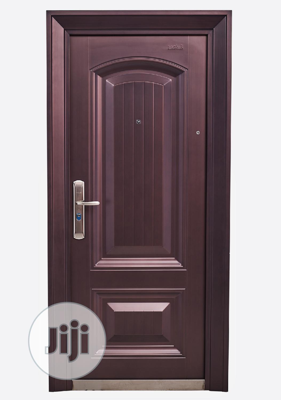 Copper Security Door