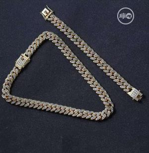 Iced Necklace and Bracelet | Jewelry for sale in Lagos State, Lagos Island (Eko)