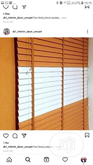 Wooden Window Blinds   Home Accessories for sale in Lagos State, Victoria Island