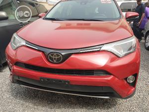 Toyota RAV4 2017 XLE AWD (2.5L 4cyl 6A) Red   Cars for sale in Lagos State, Ikeja