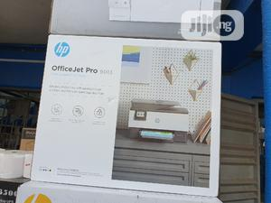 HP Officejet Pro 9013-Wireless Print Scan Copy Fax | Printers & Scanners for sale in Lagos State, Ikeja