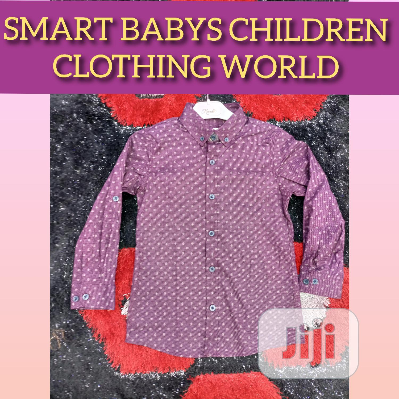 High Quality Children Shirts.100% Quality Assured