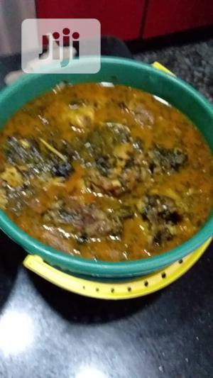 Bitter Leaf Soup With Stock Fish. Shaki Round About   Meals & Drinks for sale in Lagos State, Ojo