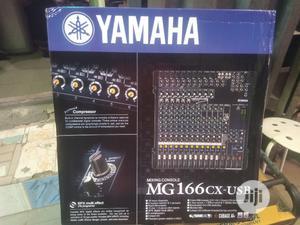 Yamaha Mixer MG 166cx USB | Audio & Music Equipment for sale in Lagos State, Ikeja