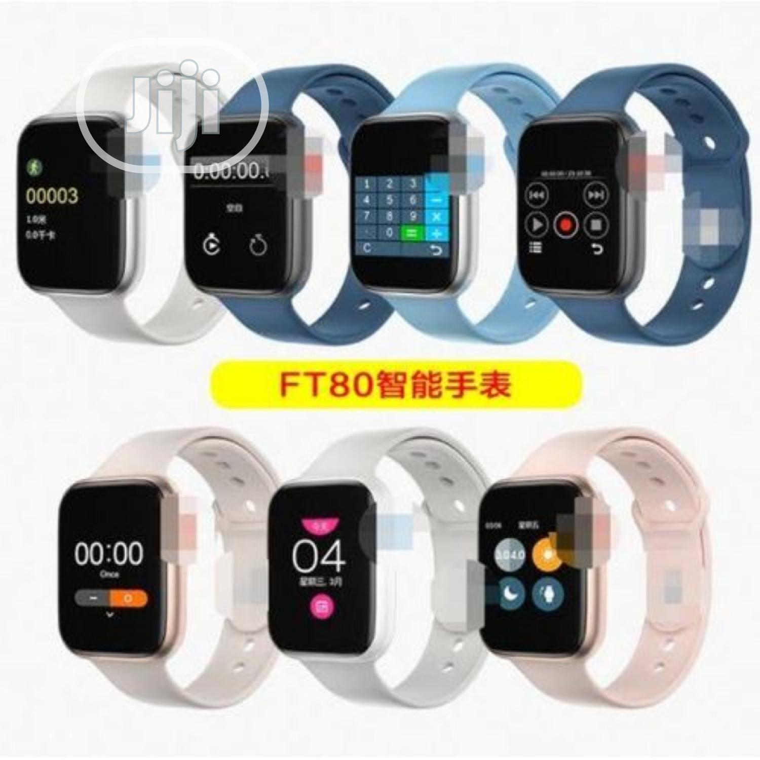 Ft80 Smart Watch and Bracelet With GPS and Sensor