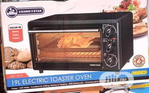 Crown Star 19L Electric Oven and Toaster | Kitchen Appliances for sale in Lagos State, Ifako-Ijaiye
