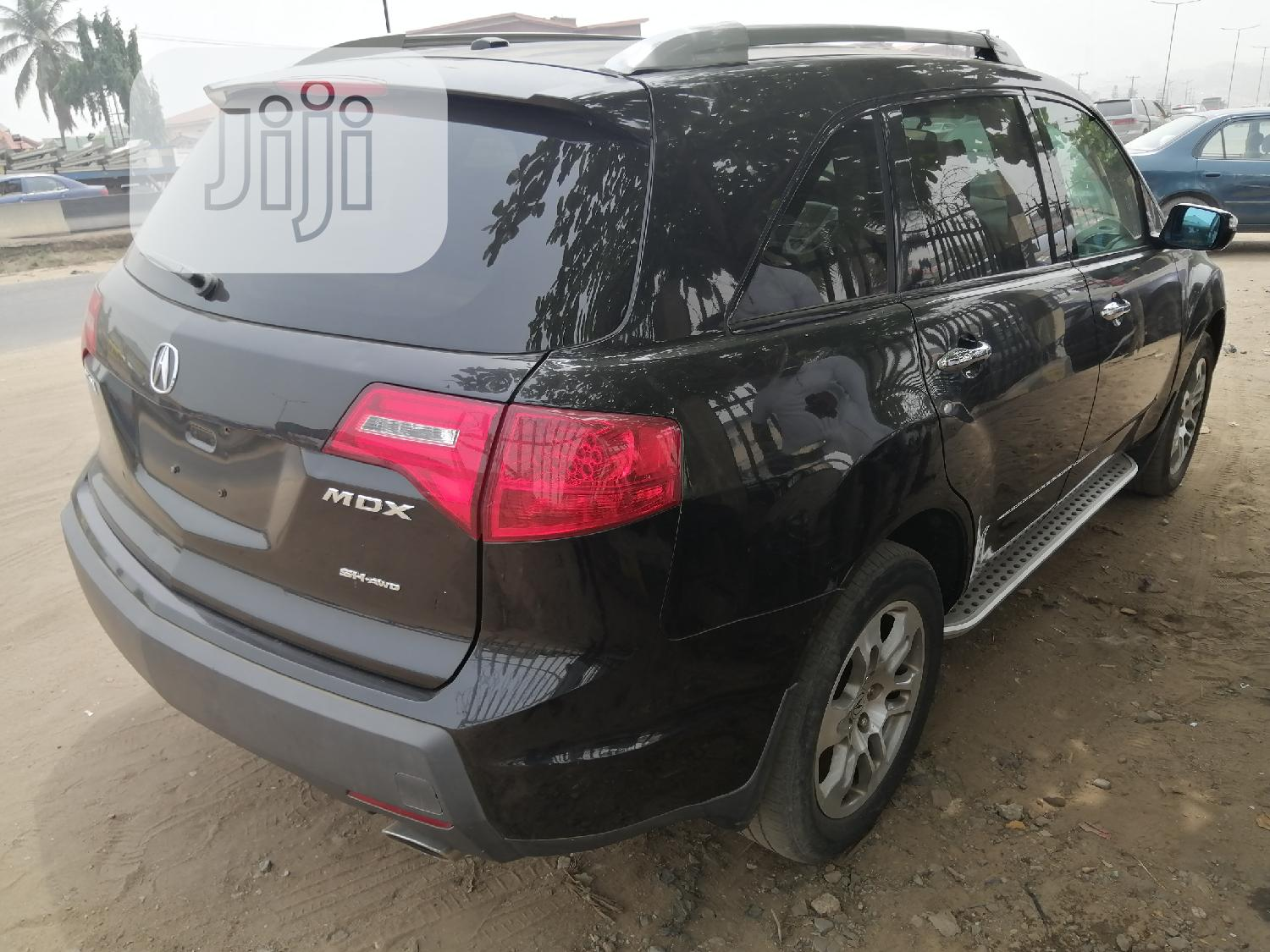 Acura MDX 2008 SUV 4dr AWD (3.7 6cyl 5A) Black   Cars for sale in Ikeja, Lagos State, Nigeria