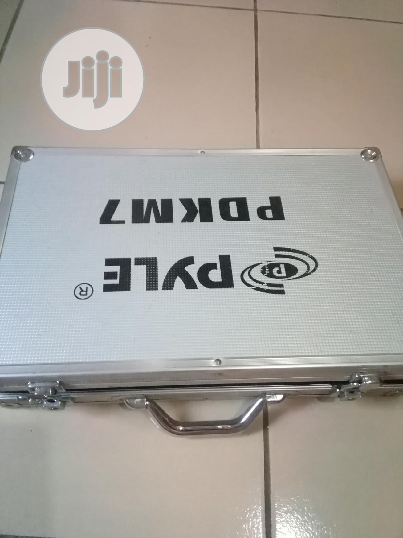 Pyle PDKM 7 Drum Set Microphone Kits   Audio & Music Equipment for sale in Ilorin South, Kwara State, Nigeria