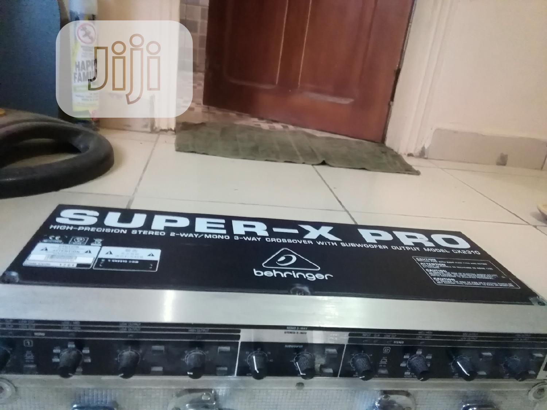 Behringer Super X Pro Crossover Model CX2310
