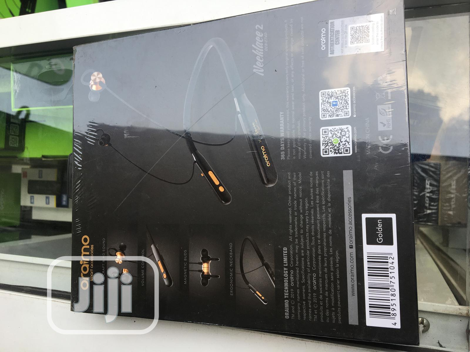 Oraimo Necklace Bluetooth 2baba Version   Accessories for Mobile Phones & Tablets for sale in Ibadan, Oyo State, Nigeria
