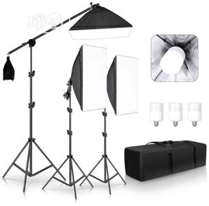 Photography Studio Softbox Lighting KIT | Accessories & Supplies for Electronics for sale in Lagos State, Lagos Island (Eko)