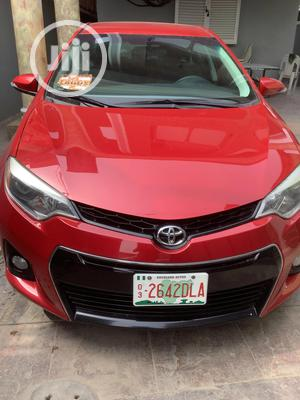 Toyota Corolla 2014 Red | Cars for sale in Lagos State, Ikeja