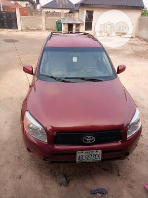 Toyota RAV4 2008 Red | Cars for sale in Lagos State, Ikorodu