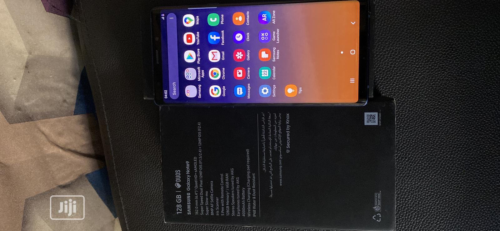 Archive: New Samsung Galaxy Note 9 128 GB Blue