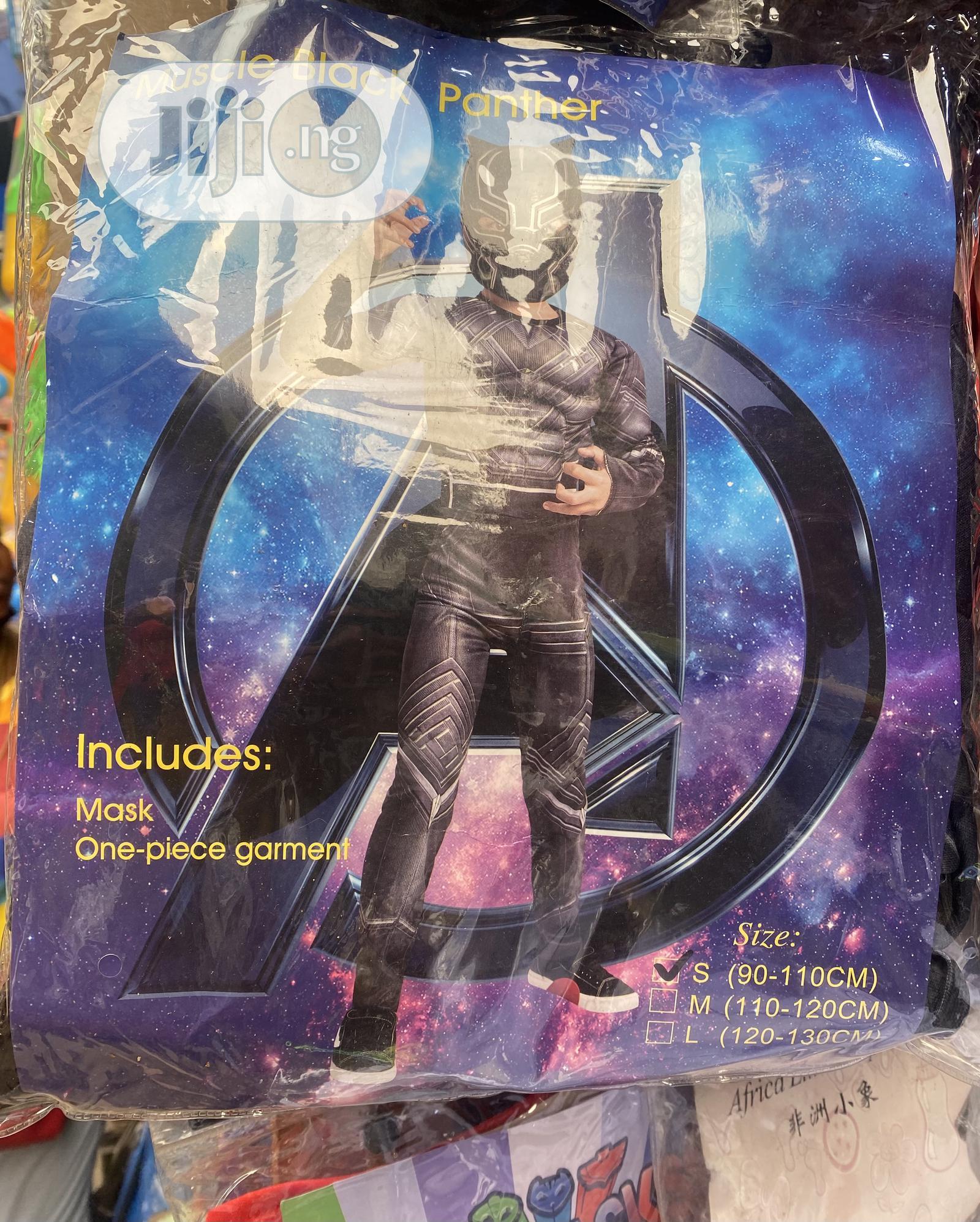 Children Black Panther Costume